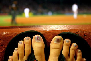 A GIRL'S VIEW OF BASEBALL | by boston_camera