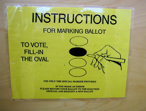 voting instructions | by Muffet
