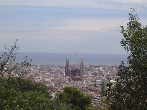 Sagrada Familia from Parc Guell | by orange27