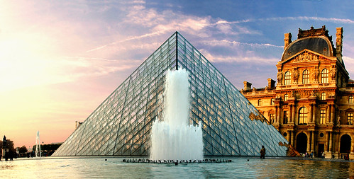 The Pyramid of the Louvre, Paris, France | by Grufnik