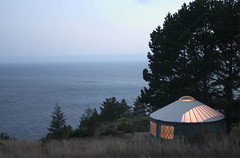treebones yurt cabins in big sur | by emdot