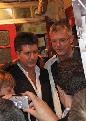 Simon Cowell & Stephen Daldry | by Littletreasure