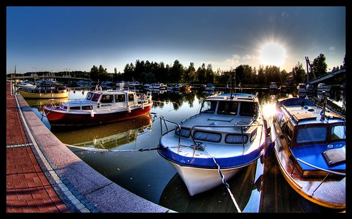 Boats on Porvoo river part II | by wili_hybrid