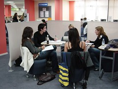 Collaboration, Library, City Campus West, Northumbria University | by jisc_infonet