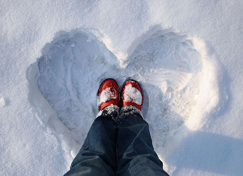 A Snow Heart For You :) xoxox | by janoid