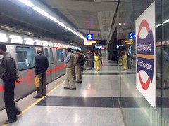 Delhi Metro, Central Secretariat station | by Bopuc
