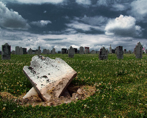 Broken Tombstone | by eqqman