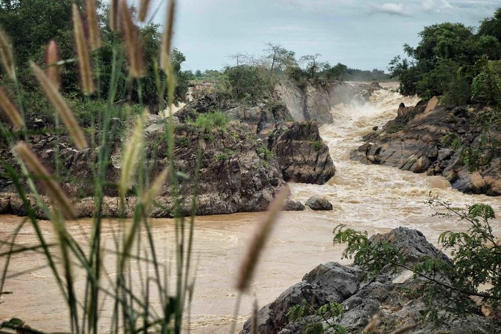 Li Phi ou Somphamit Waterfalls 3