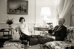 President Gerald R. Ford, relaxing | by farlane