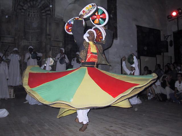 Sufi dancing, Cairo, Egypt