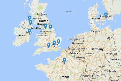 2016 Europe Cities