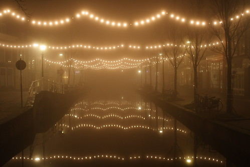 Night lights on Vrouw juttenland | by joris besseling