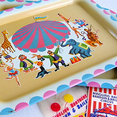 Vintage Circus Trays | by Picnic by Ellie
