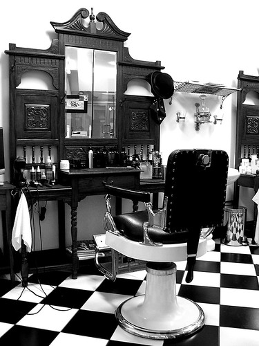 Barber Shop (Monochrome) | by Craig Jewell Photography