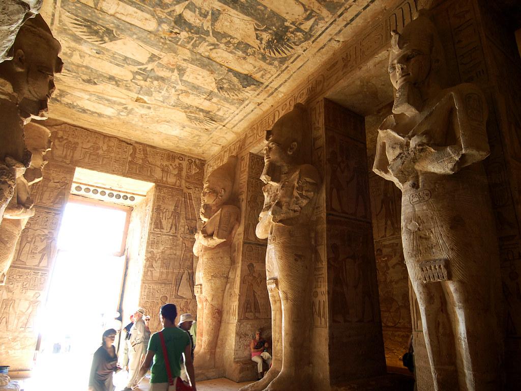 Large hall of Abu Simbel