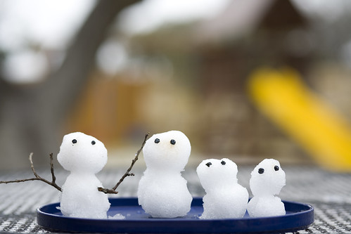 Snowman family in TX | by _dai_