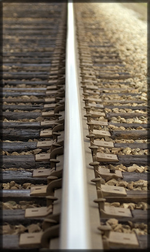 On the right track | by janusz l
