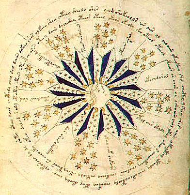 Voynich Manuscript, Cosmology Page | by Si1very