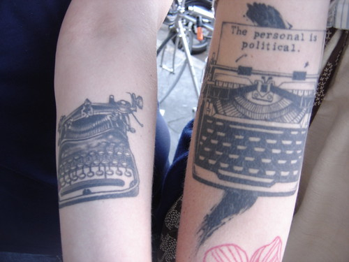 Typewriter tats | by ekai