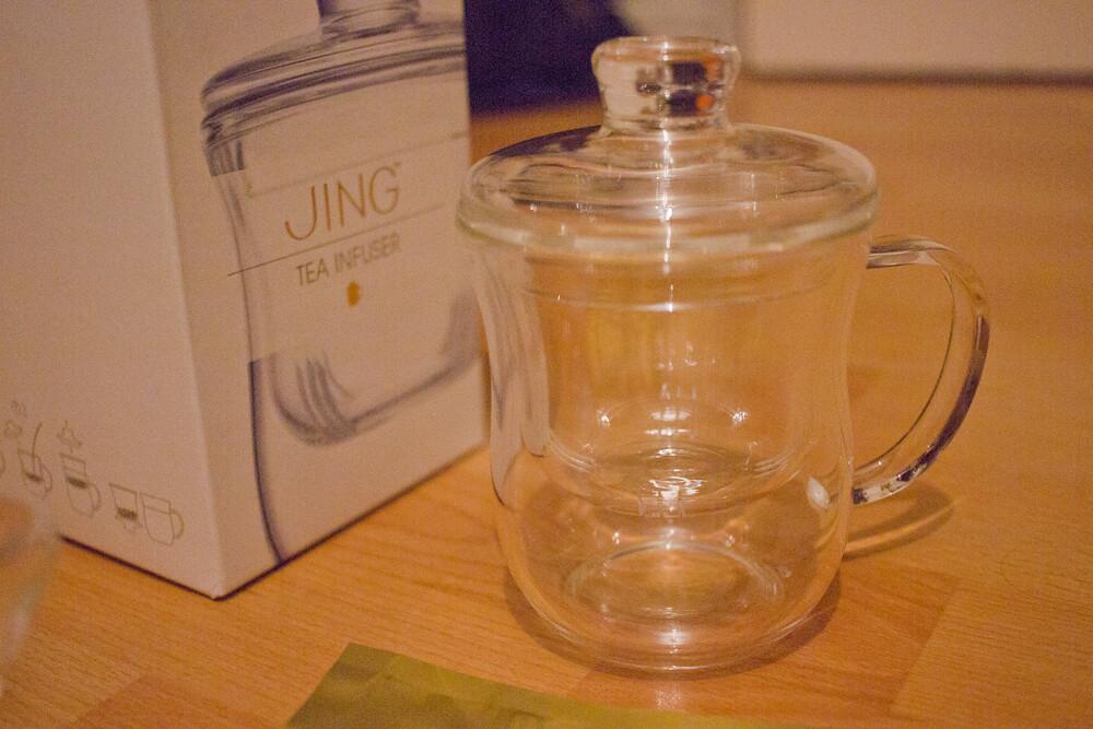 jing tea, jing tea infuser, infusion tea, tea infuser, tea infusion