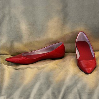 the red shoes | by t. bell