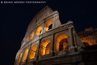 Colisseum side | by BRUNO MÉNDEZ PHOTOGRAPHY