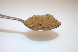 02 - Zutat Koriander / Ingredient coriander