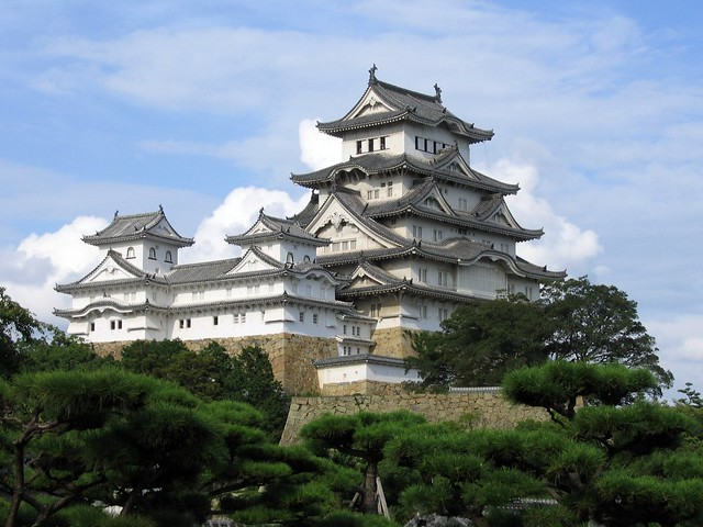 Hime-ji Castle's West Bailey