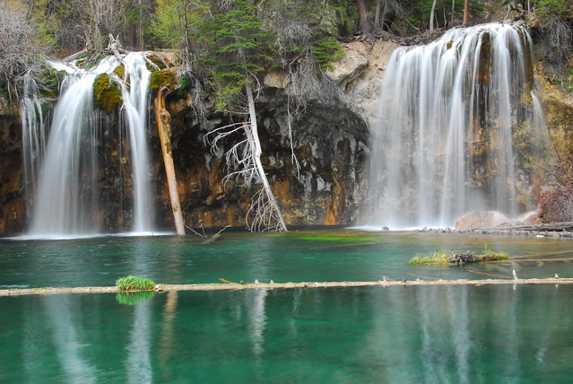 Hanging Lake Waterfalls near Glenwood Springs, CO