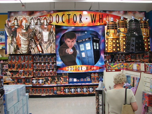 Doctor Who Toy Wall - Toys R Us, Medway, UK Ian Muttoo Flickr