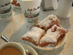 Hot beignets and coffee! | by scriptingnews