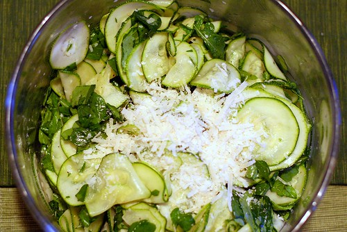 zucchini carpaccio | by smitten kitchen
