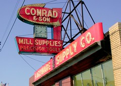 Conrad & Son Hardware Supply Sign | by pixeljones
