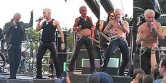 Billy Idol Performing, Lollapalooza, 2005 | by panopticon
