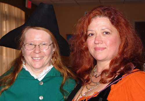 Cindy Vallar and Mad Sally | by International Talk Like A Pirate Day