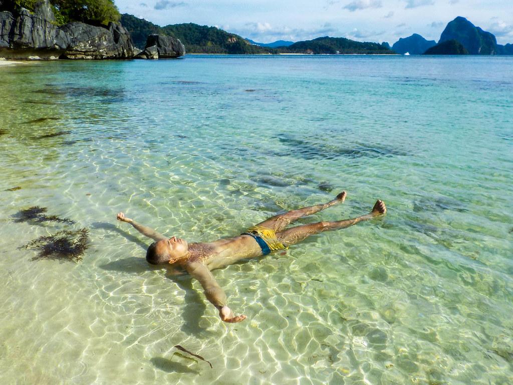 Descanso en Papaya beach