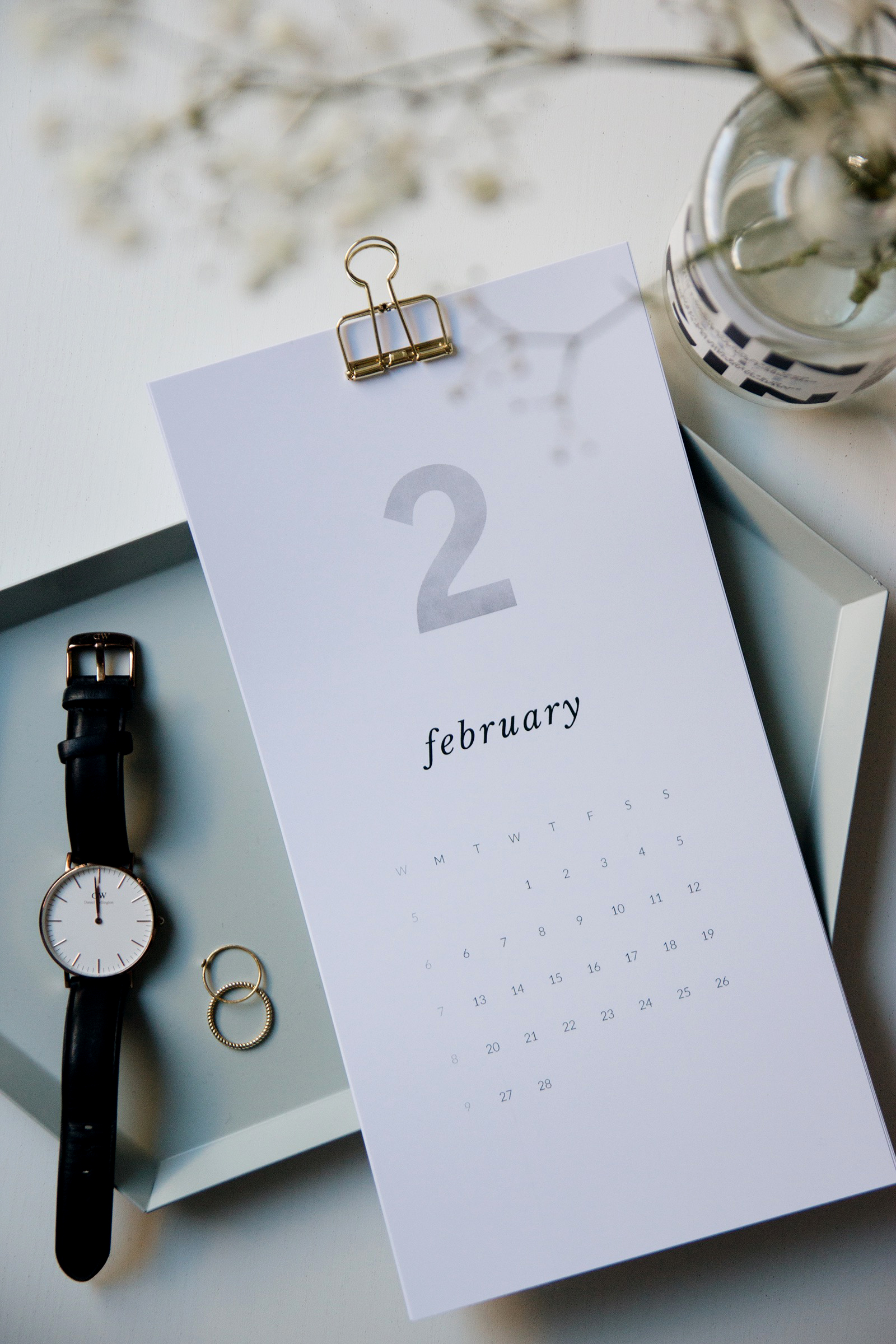 Printattava kalenteri 2017