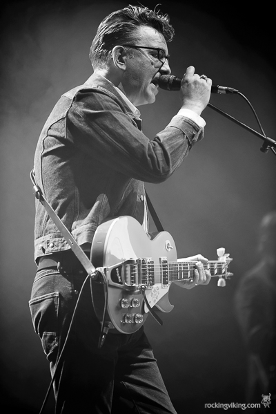 Richard Hawley on stage at Sheffield City Hall on December 5, 2016