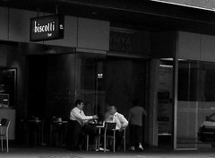 Business meeting at the biscotti bar | by maebmij