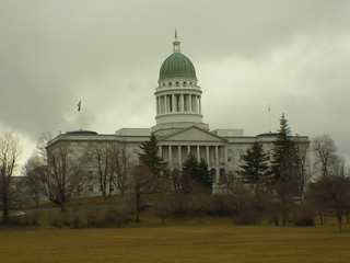 Maine State House | by qnr