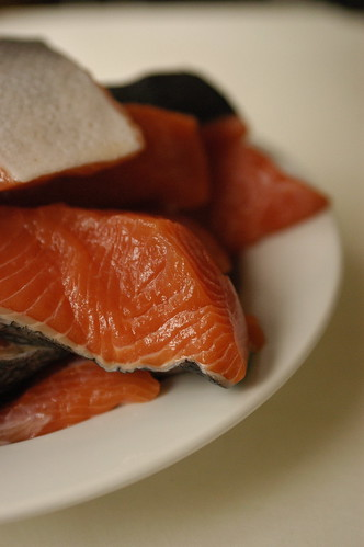 fresh wild king salmon from Sitka | by shauna | glutenfreegirl