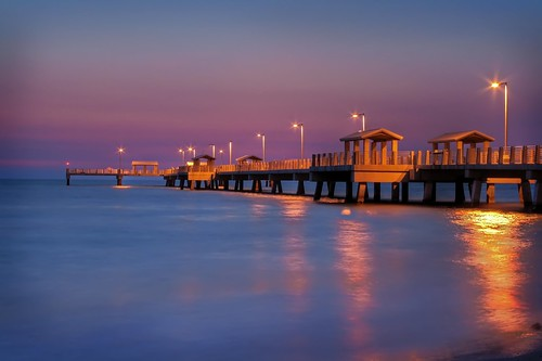Twighlight at the Fort De Soto Pier | by WisDoc