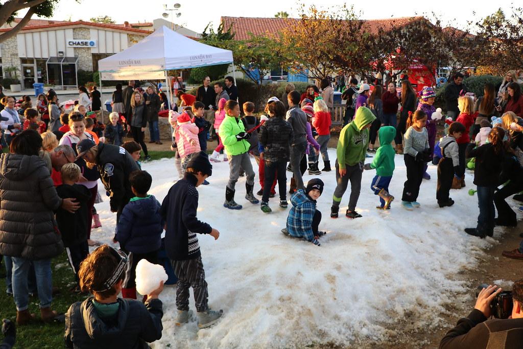 2016 Santa-in-the-Park