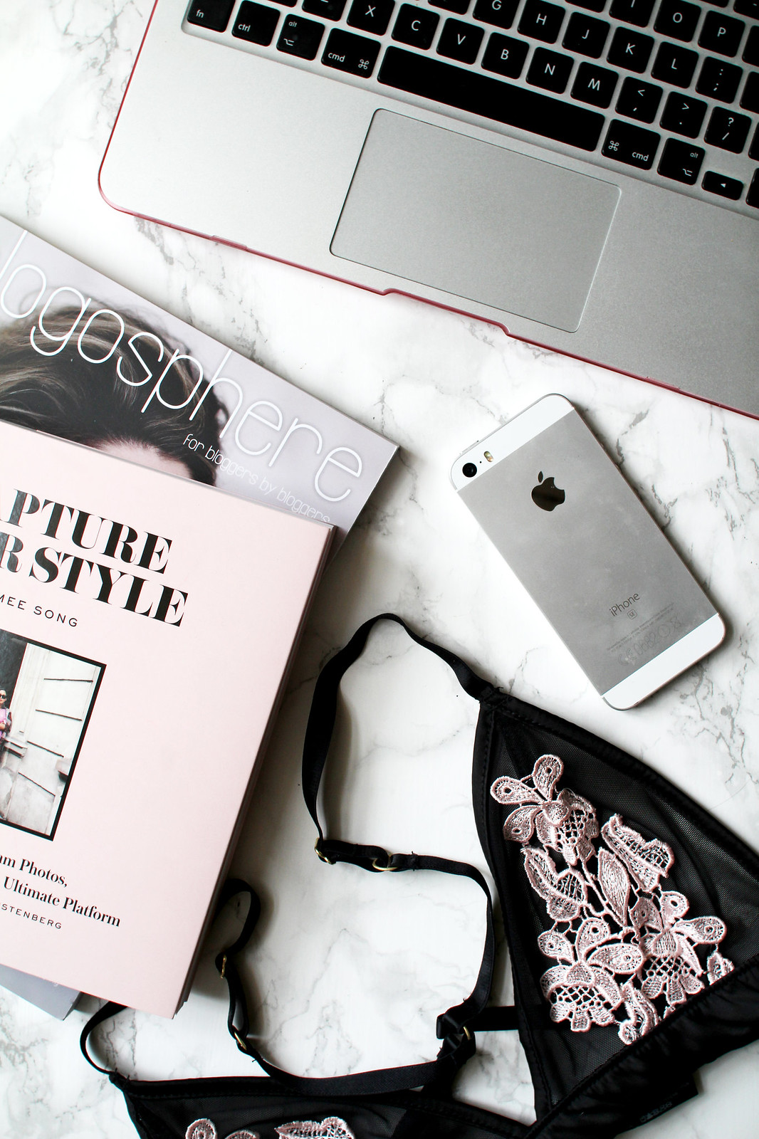 lifestyle blogger UK The Little Things Blogosphere flatlay