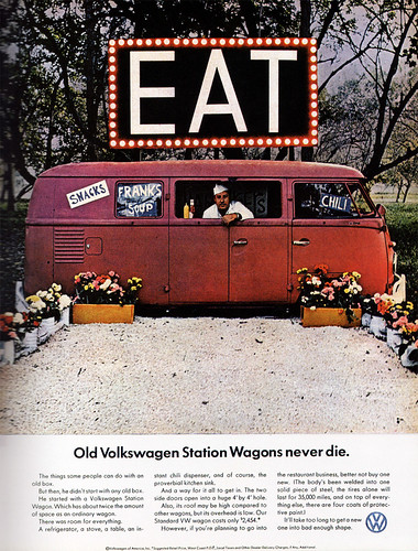 1960s Advertising - Magazine Ad - Volkswagen 1 (USA) | by ChowKaiDeng