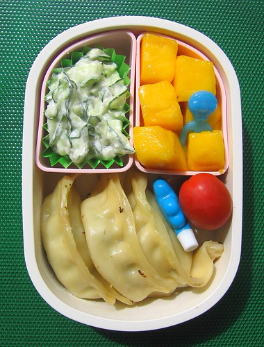 Potsticker lunch for toddler | by Biggie*