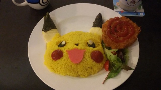 Pokemon Cafe Curry Rice