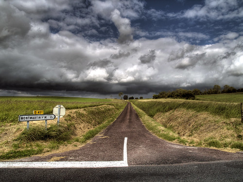 0327 Road to Montmartin-Sur-Mer | by andy linden