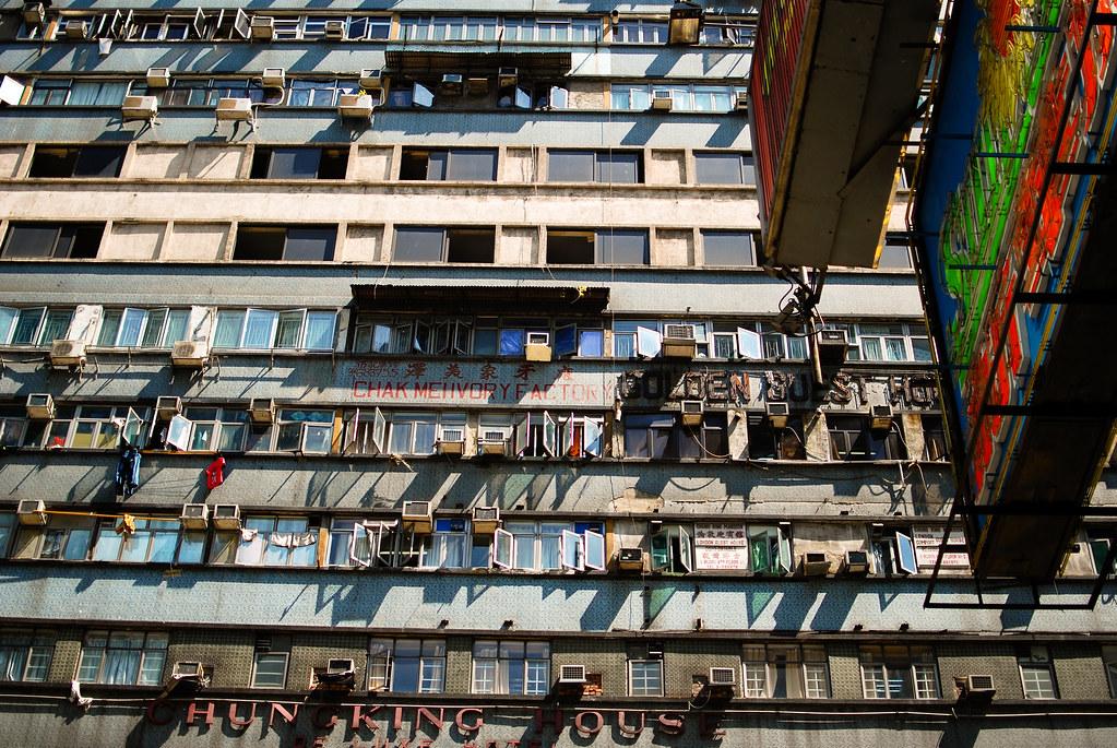 Chunking Mansions, Kowloon. Image: Nate Robert, CC