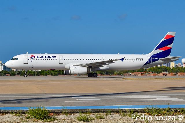 PT-MXD Airbus A321-231 LATAM Airlines Brasil - cn 3761
